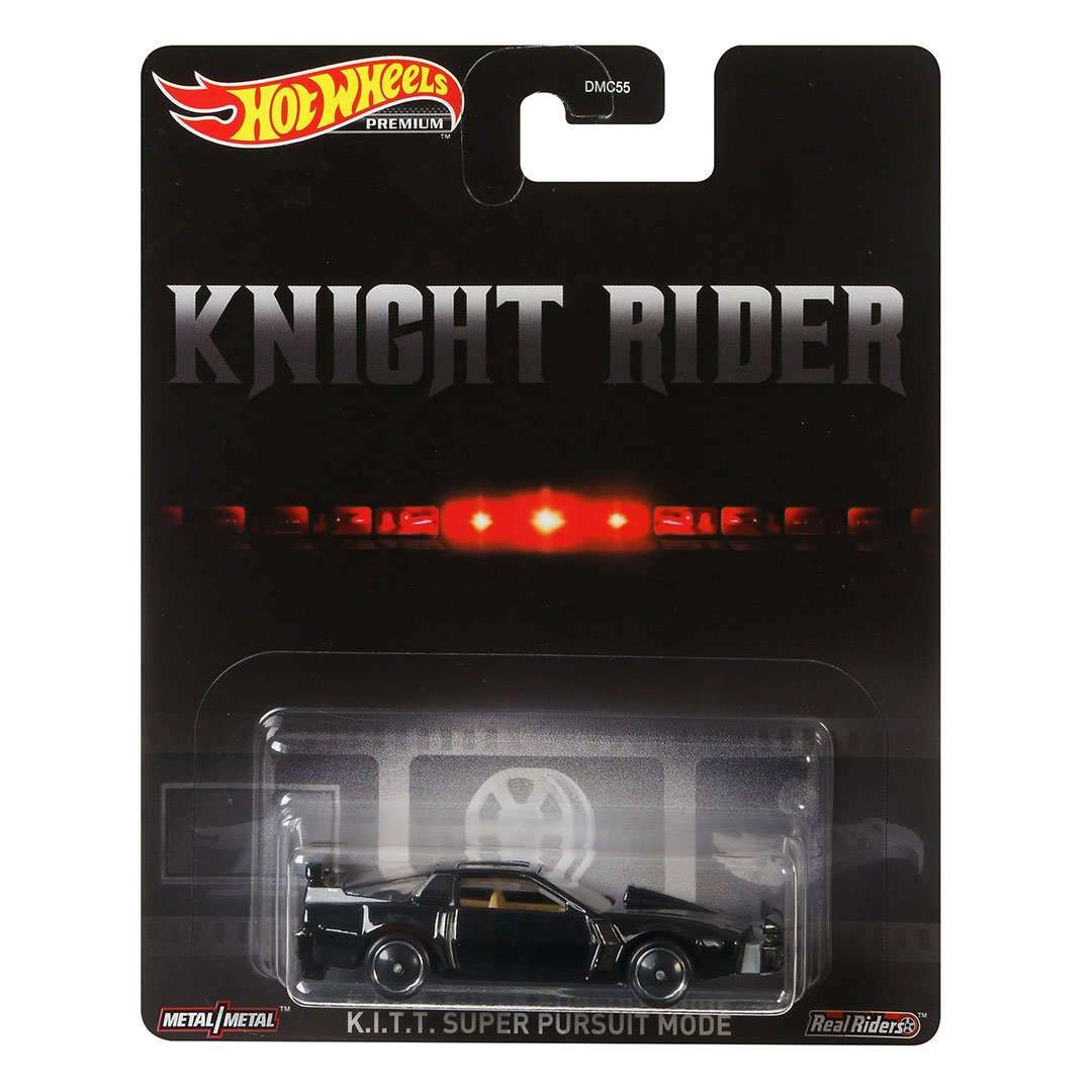 Knight Rider KITT Super Pursuit Mode 1:64 Scale Die-Cast Car by Hot Wheels -Hot Wheels - India - www.superherotoystore.com