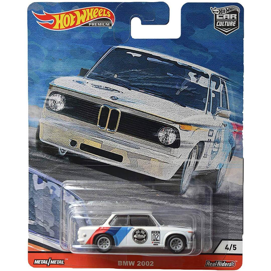 Car Culture BMW 2002 1:64 Scale Die-Cast Car by Hot Wheels -Hot Wheels - India - www.superherotoystore.com