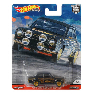 Car Culture 1970 Ford Escort RS1600 1:64 Scale Die-Cast Car by Hot Wheels -Hot Wheels - India - www.superherotoystore.com