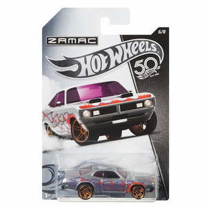 50 Anniversary ZAMAC Edition 71 Dodge Demon Die Cast Car by Hot Wheels