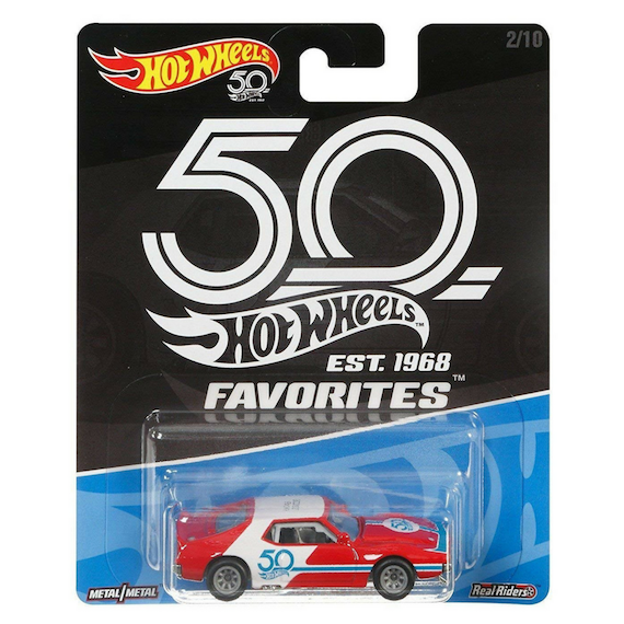 50 Anniversary Fovourites Collection 71 AMC Javelin Die-Cast Car by Hot Wheels