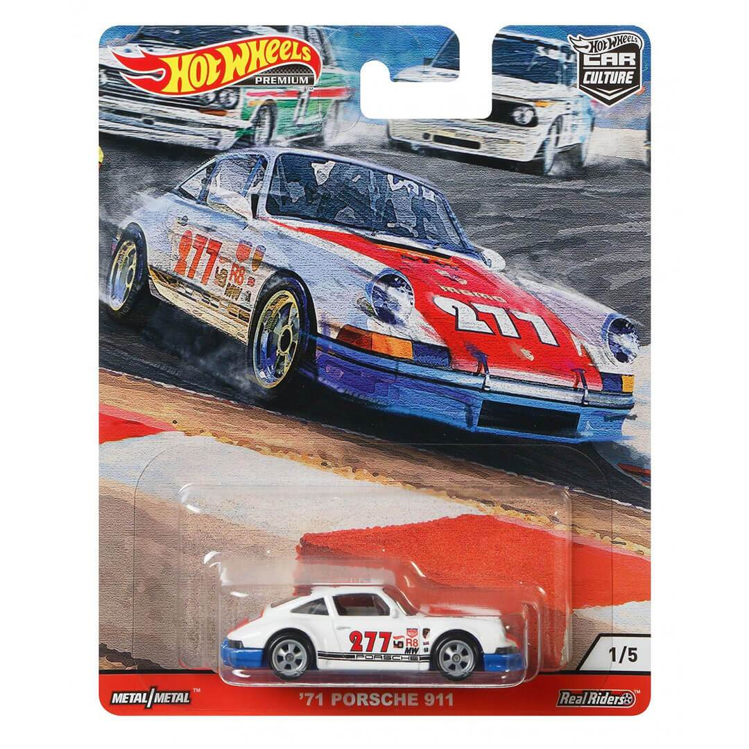 Car Culture 1971 Porsche 911 1:64 Scale Die-Cast Car by Hot Wheels -Hot Wheels - India - www.superherotoystore.com