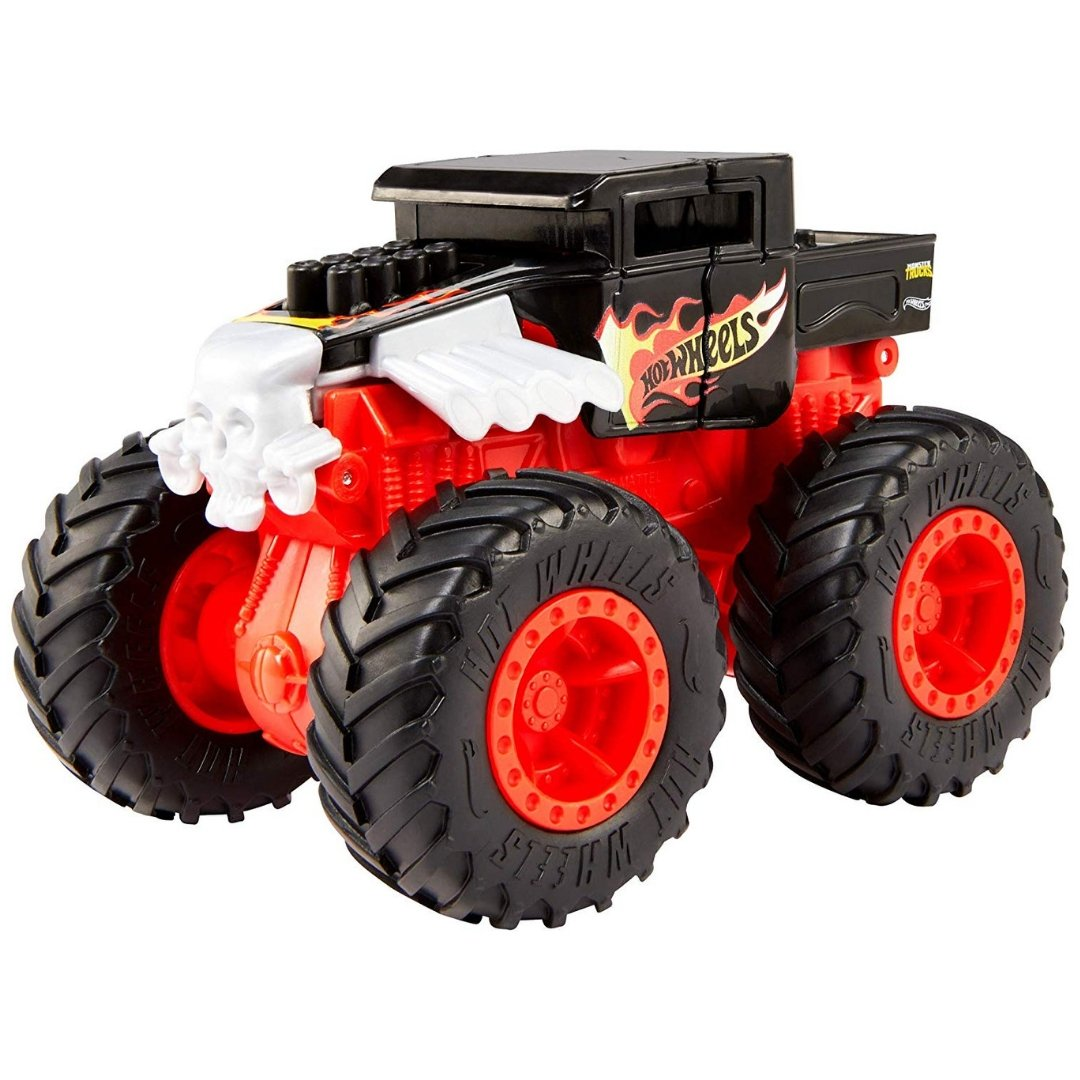 Monster Truck Bash Ups Bone Shaker by Hot Wheels