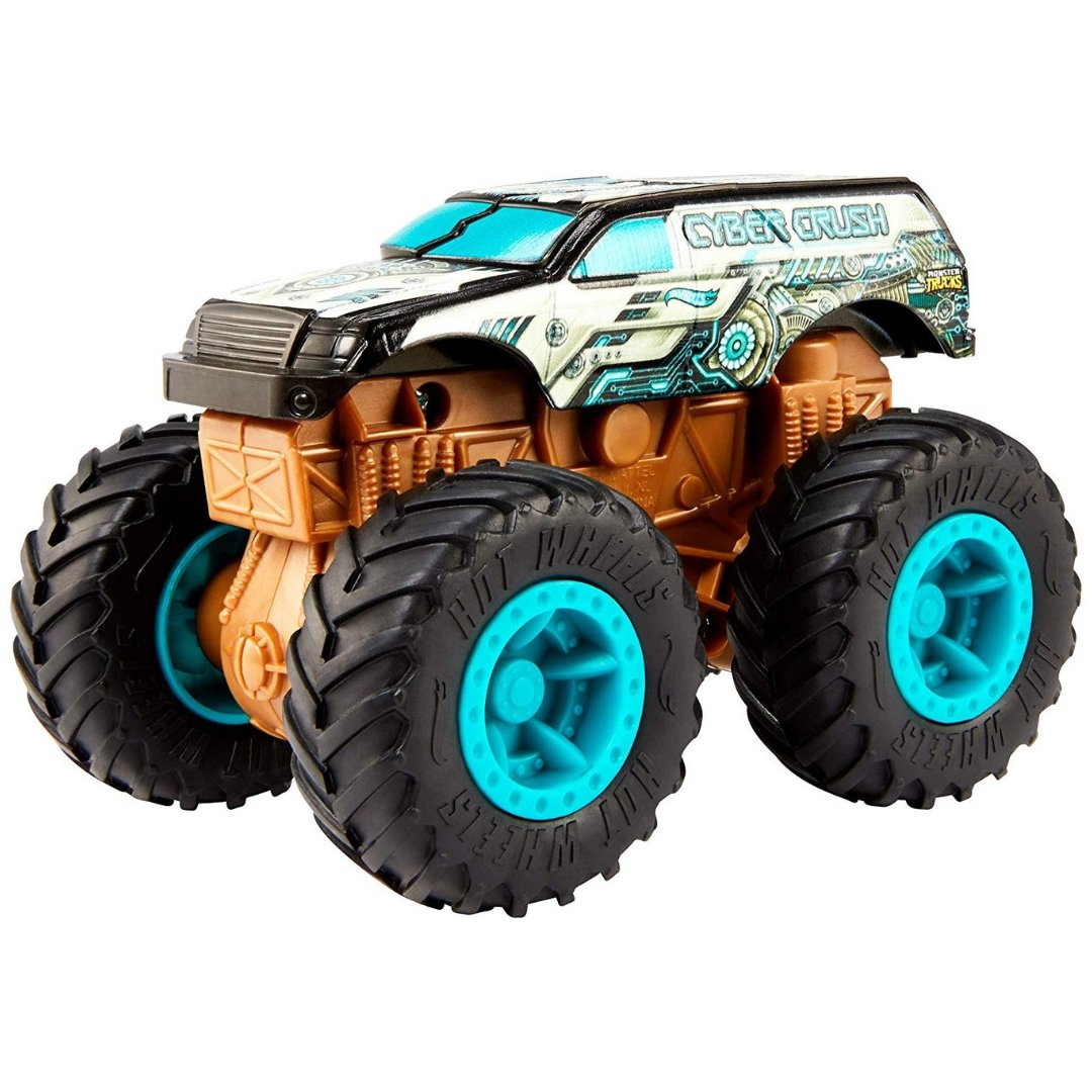 Monster Truck Bash Ups Cyber Crush by Hot Wheels