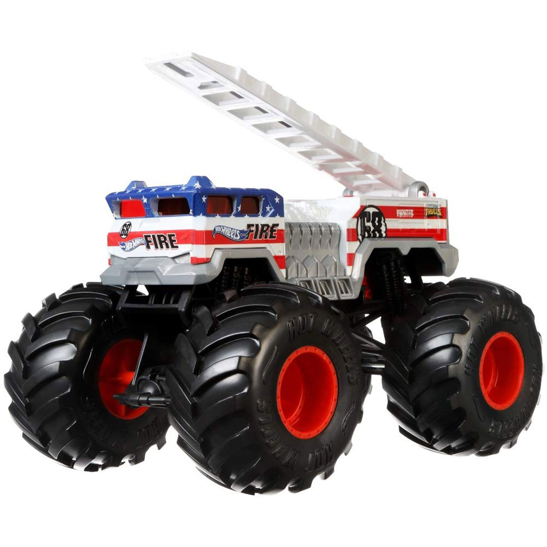 Monster Truck 5 Alarm 1:24 Scale Die-Cast Car by Hot Wheels