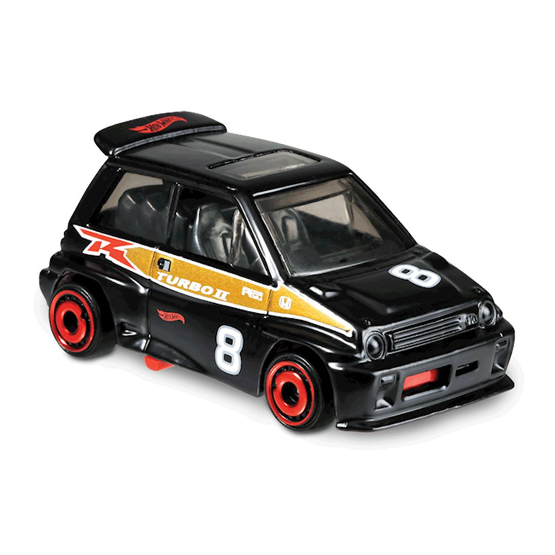 Nightburnerz 1985 Honda City Turbo II 1:64 Scale Die-Cast Car by Hot Wheels (81/250)