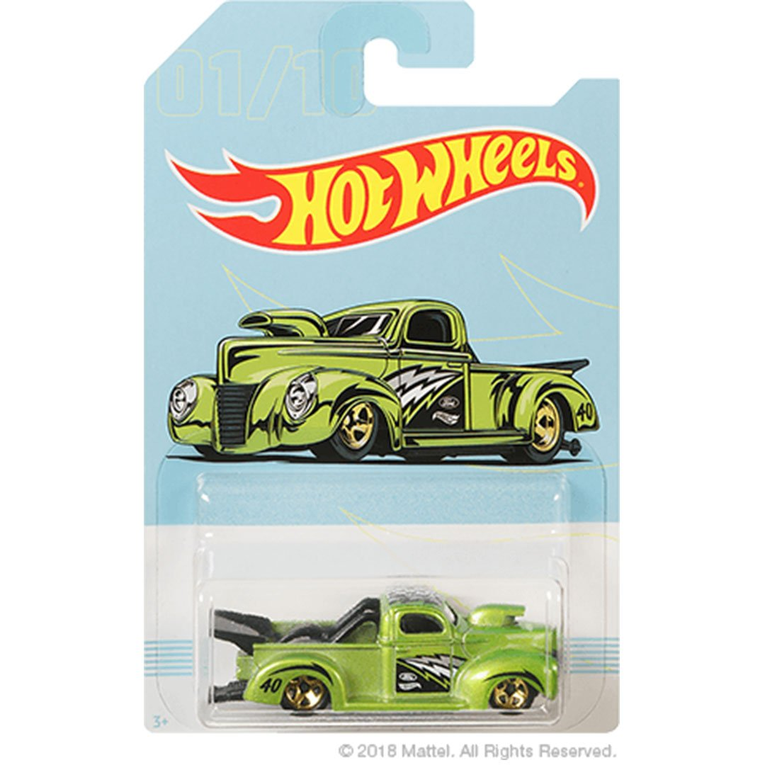 Hot Wheels 1940 Ford Pickup 1:64 Scale Die-Cast Car by Hot Wheels (01/10)