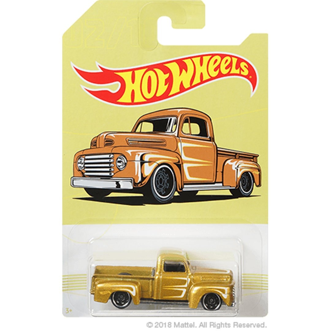 Hot Wheels 1949 Ford F1 1:64 Scale Die-Cast Car by Hot Wheels (02/10)