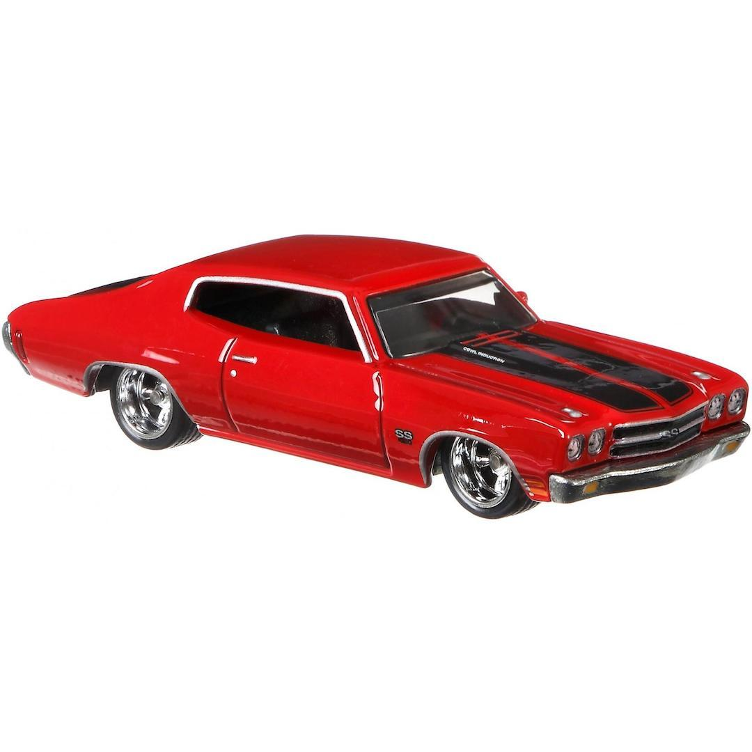 Fast & Furious 1:64 Scale 1970 Red Chevrolet Chevelle SS Die-Cast Car by Hot Wheels