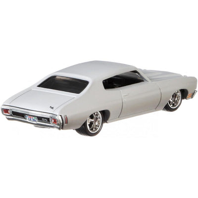 Fast & Furious 1:64 Scale 1970 Grey Chevrolet Chevelle SS Die-Cast Car by Hot Wheels