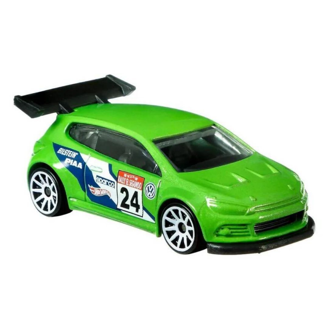 Hot Wheels Rally Sport Series Volkswagen Scirocco GT24 1:64 Scale Die-Cast Car by Hot Wheels -Hot Wheels - India - www.superherotoystore.com