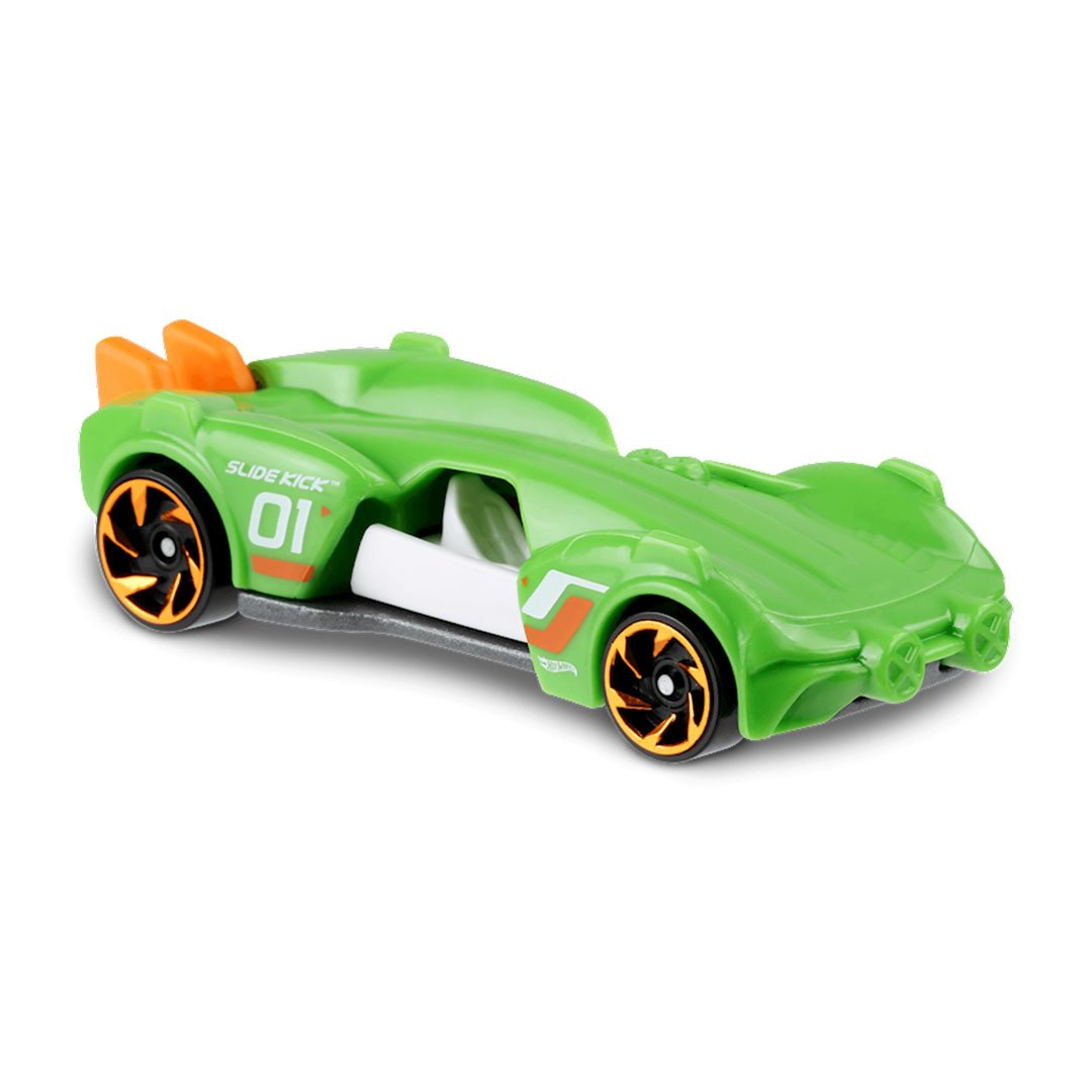 Experimotors Green Slide Kick 1:64 Scale Die-Cast Car by Hot Wheels (144/250) -Hot Wheels - India - www.superherotoystore.com