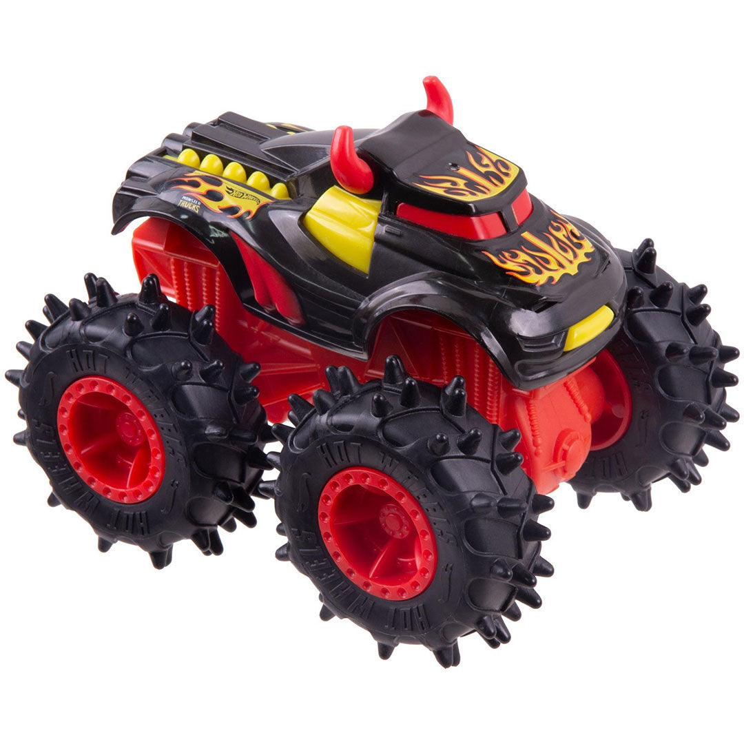 Wrecking Wheels Steer Clear 1:43 Scale Monster Truck by Hot Wheels