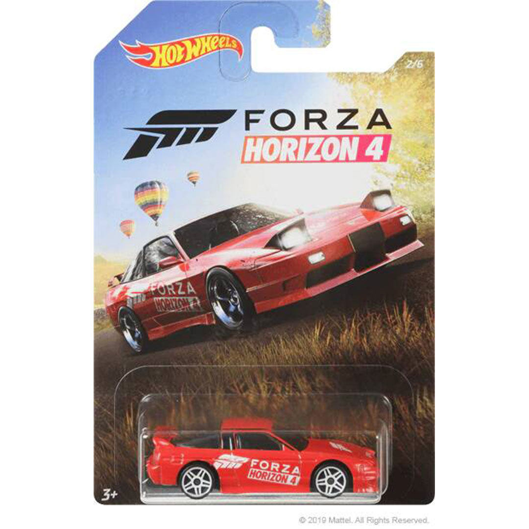 Forza Horizon 4 1996 Nissan 180SX Type X 1:64 Scale Die-Cast Car by Hot Wheels