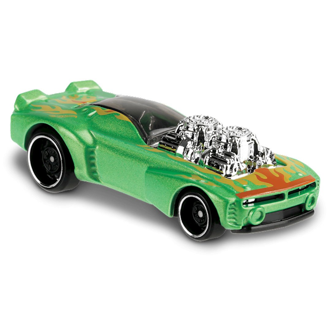 HW Muscle Mania Rodger Dodger 2.0 1:64 Scale Die-Cast Car by Hot Wheels (195/250) -Hot Wheels - India - www.superherotoystore.com