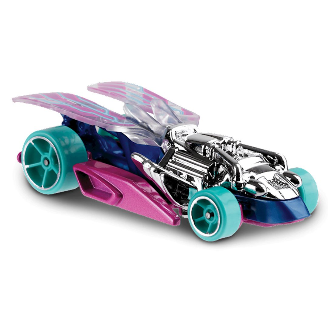 HW Street Beasts Draggin Tail 1:64 Scale Die-Cast Car by Hot Wheels (191/250) -Hot Wheels - India - www.superherotoystore.com