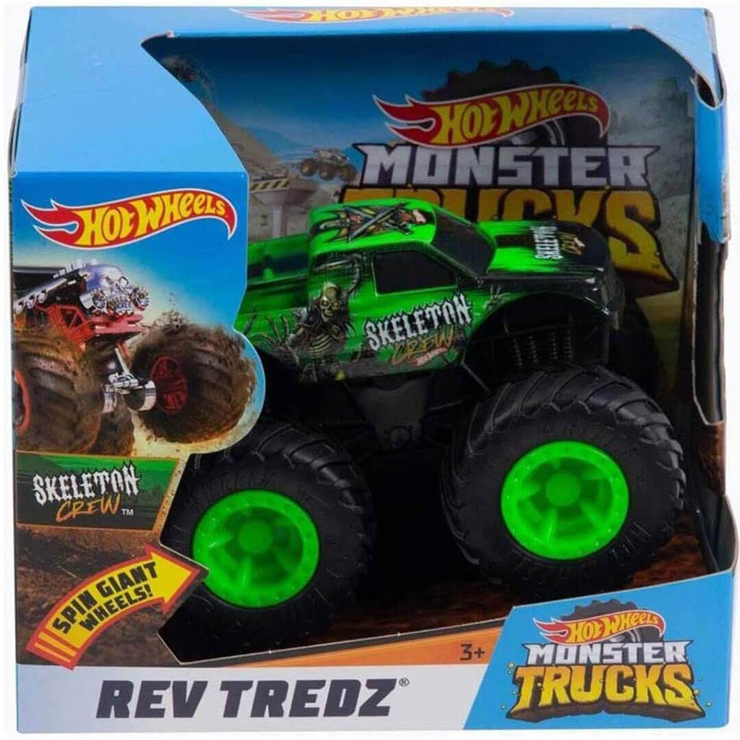 Rev Trendz Skeleton Crew 1:43 Scale Monster Truck by Hot Wheels -Hot Wheels - India - www.superherotoystore.com