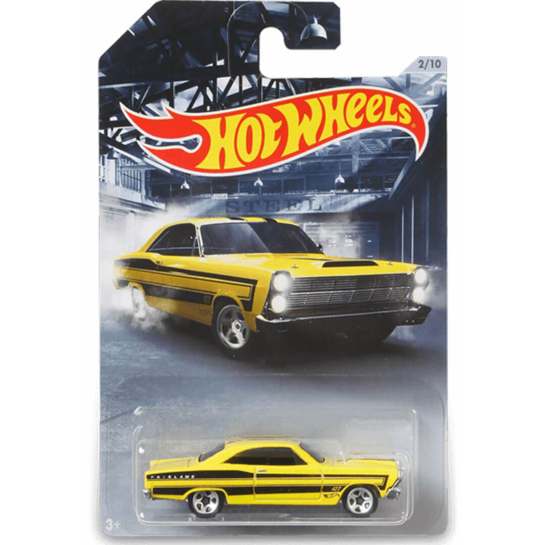 American Steel 1966 Ford 427 Fairline 1:64 Scale Die-Cast Car by Hot Wheels -Hot Wheels - India - www.superherotoystore.com