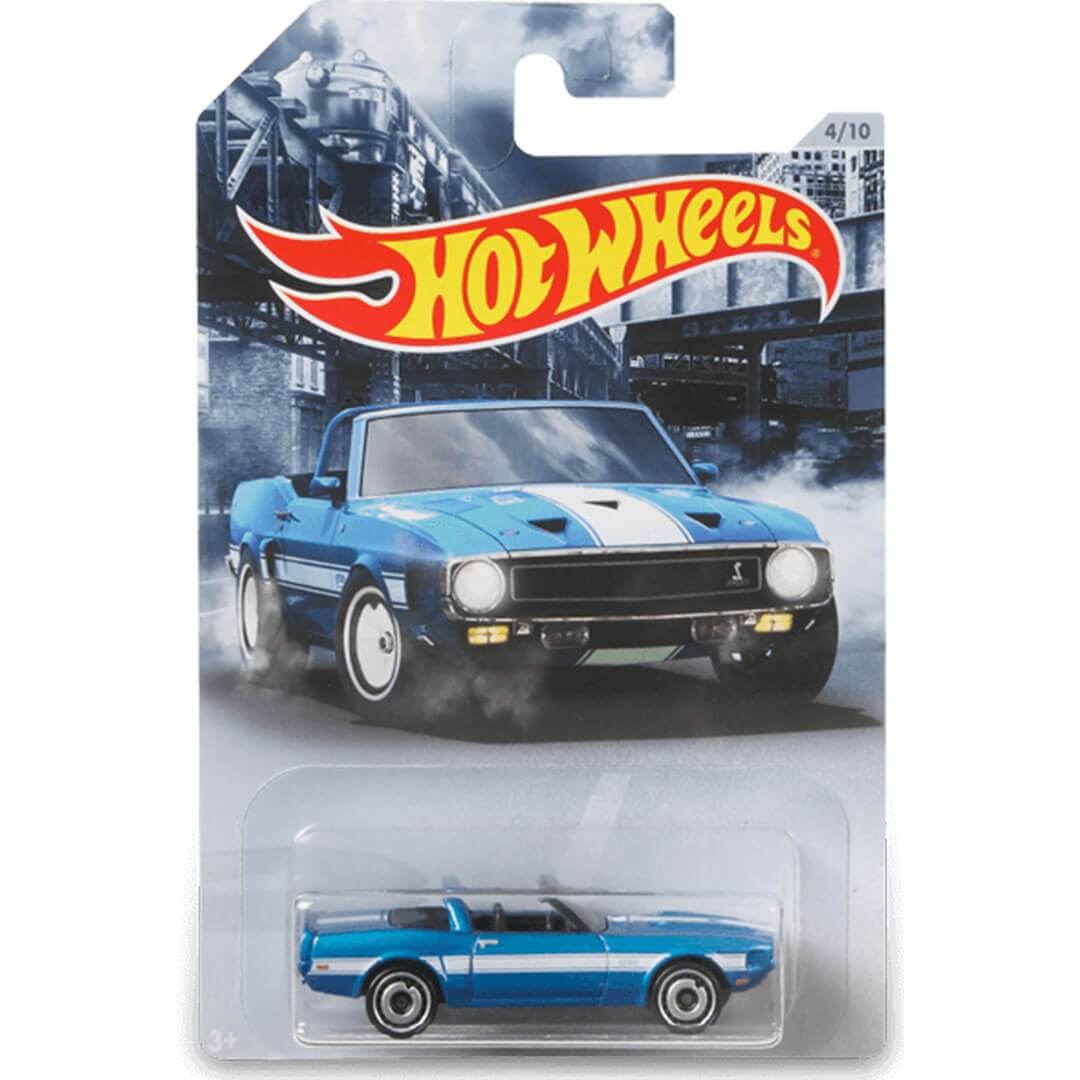 American Steel 1969 Shelby GT 500 1:64 Scale Die-Cast Car by Hot Wheels -Hot Wheels - India - www.superherotoystore.com