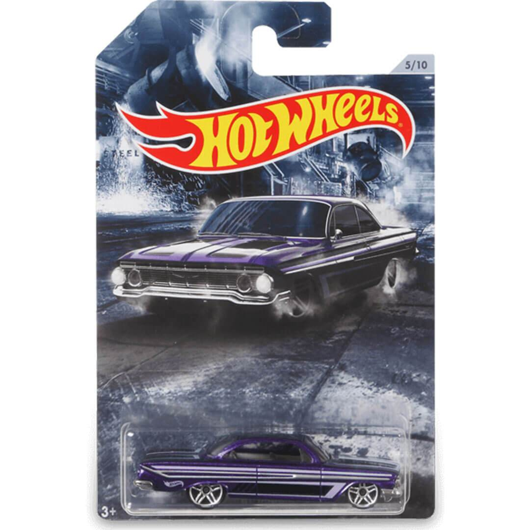 American Steel 1961 Chevy Impala SS 1:64 Scale Die-Cast Car by Hot Wheels -Hot Wheels - India - www.superherotoystore.com