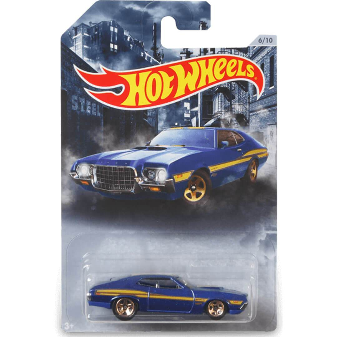 American Steel 1:64 1972 Ford Torino Scale Die-Cast Car by Hot Wheels -Hot Wheels - India - www.superherotoystore.com