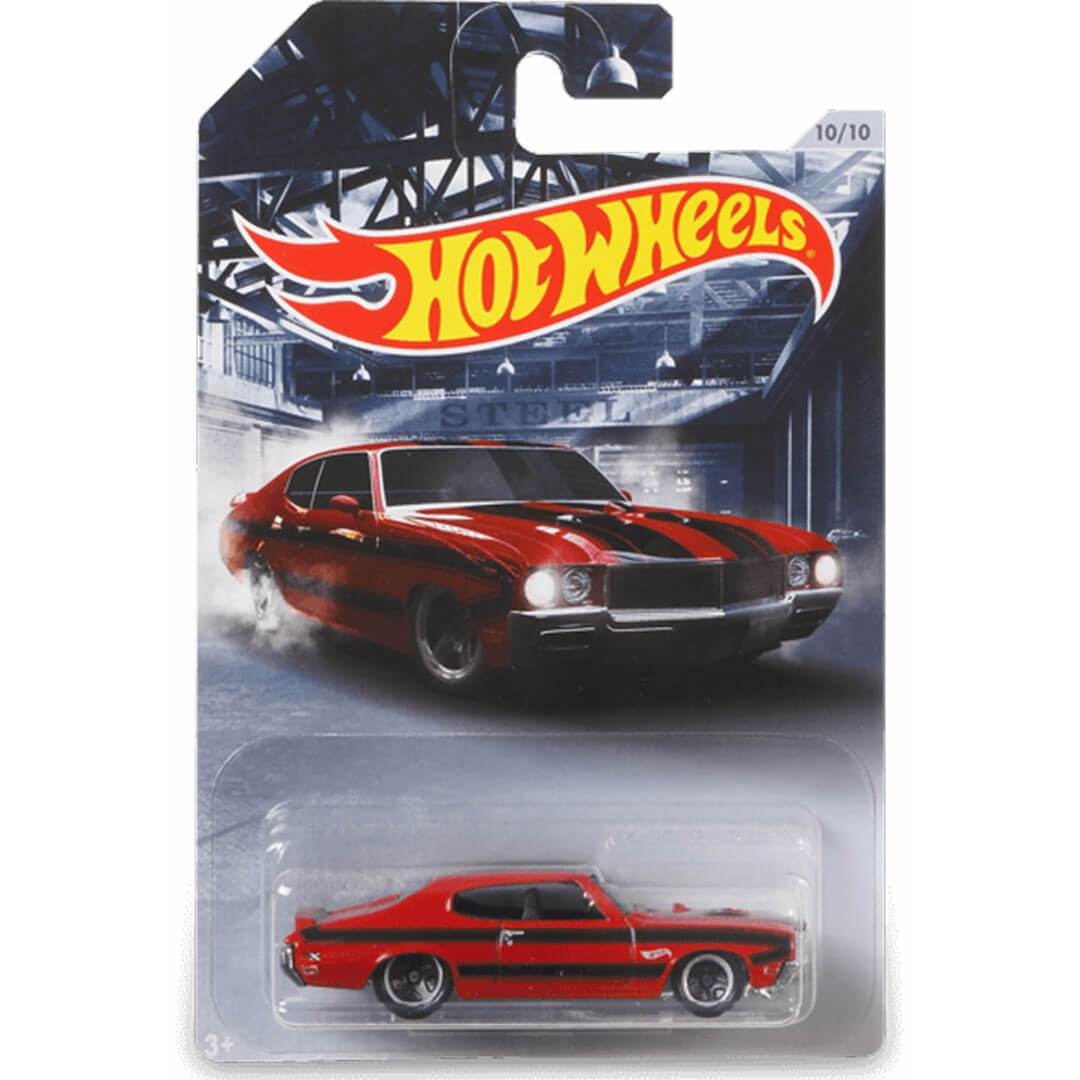 American Steel 1970 Buick GSX 1:64 Scale Die-Cast Car by Hot Wheels -Hot Wheels - India - www.superherotoystore.com