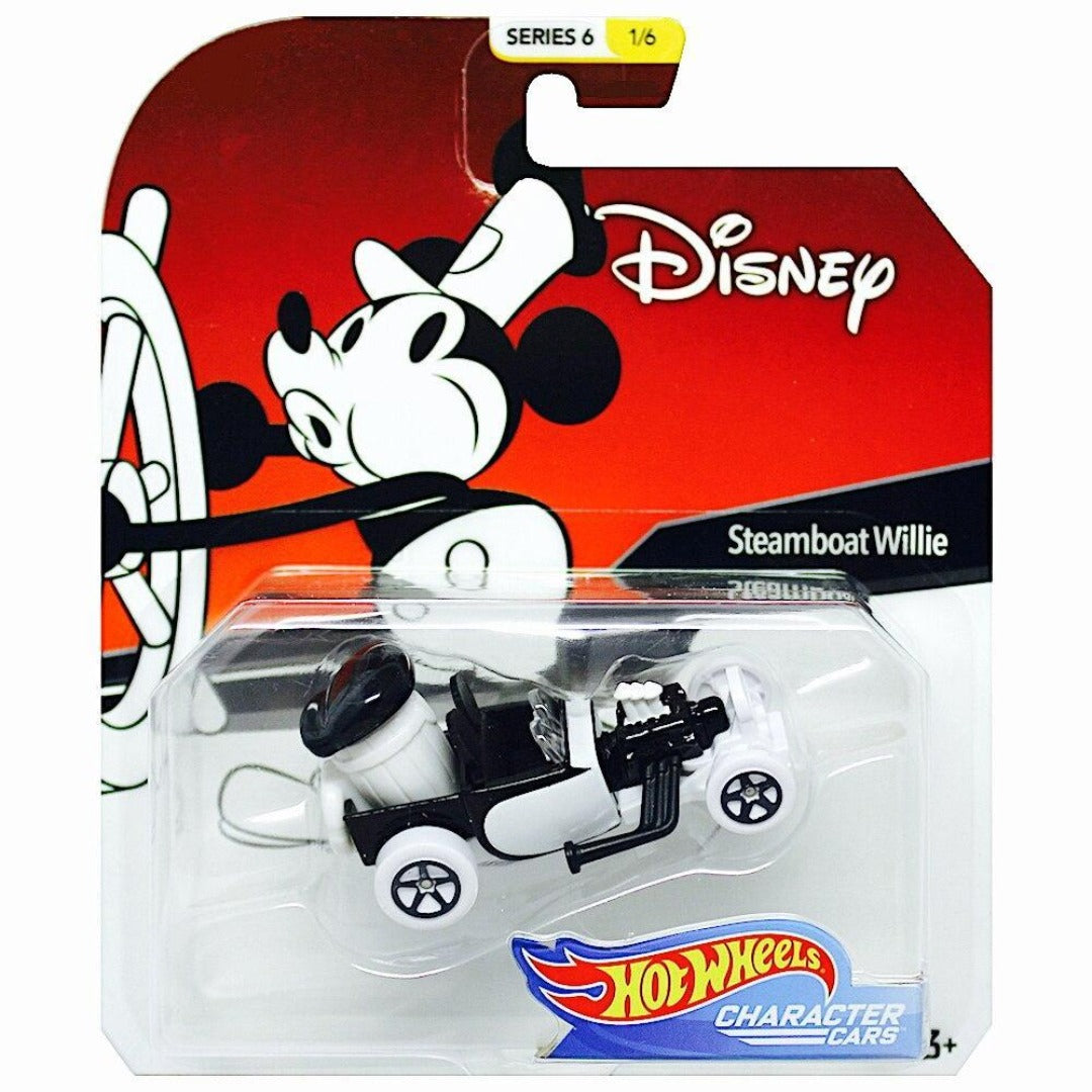 Disney Character Car - Mr Steamboat While 1:64 Scale Die-Cast Car by Hot Wheels -Hot Wheels - India - www.superherotoystore.com