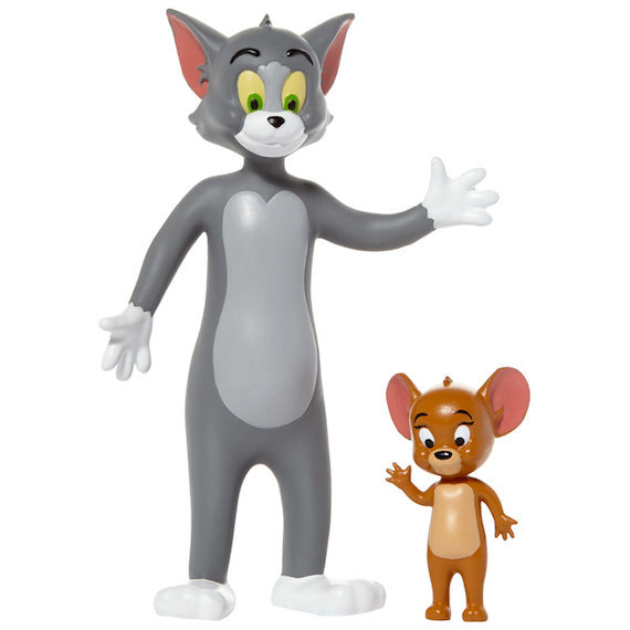 Tom & Jerry Bendable 2 Pack by NJ Croce -NJ Croce - India - www.superherotoystore.com
