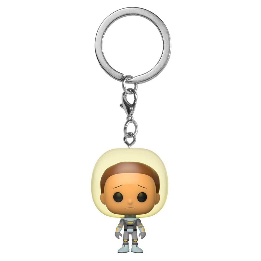Rick & Morty Space Suit Morty Figural Keychain by Funko -Funko - India - www.superherotoystore.com