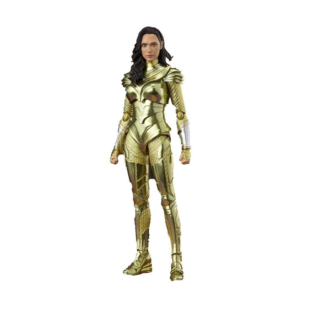 Wonder Woman 1984 Wonder Woman Golden Armor Figure by S.H.Figuarts -SH Figuarts - India - www.superherotoystore.com