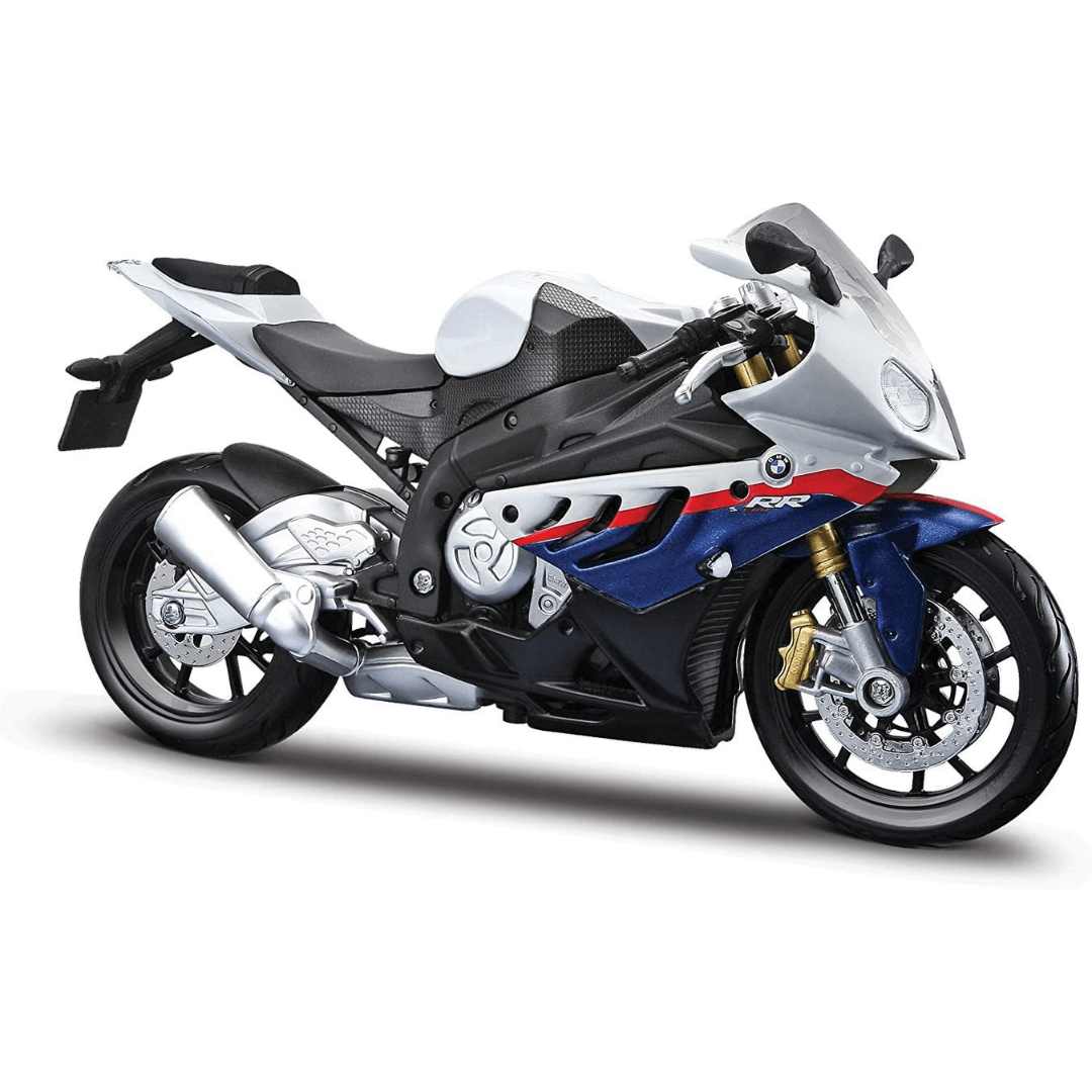 Assembly Line 1:12 Scale BMW S1000 RR Die-Cast Model Kit by Maisto -Maisto - India - www.superherotoystore.com