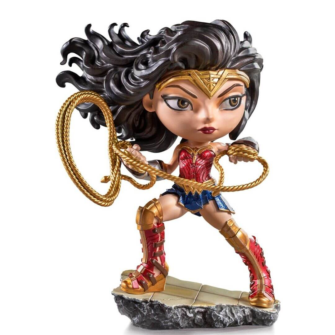 Wonder Woman 1984: Wonder Woman MiniCo Figure by Iron Studios -MiniCo - India - www.superherotoystore.com