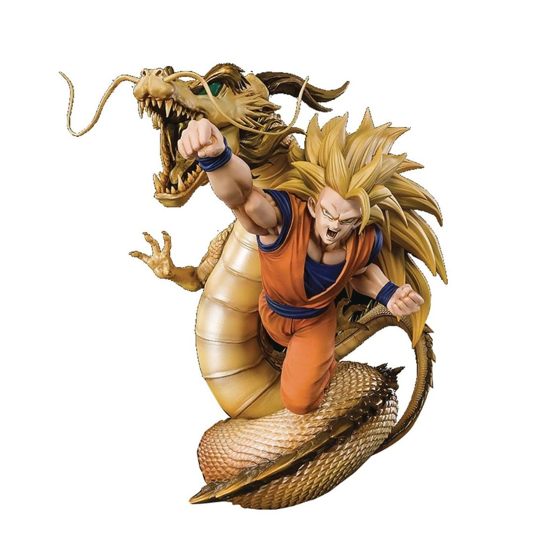 Dragon Ball Z Super Saiyan 3 Son Goku Dragon Fist Explosion Extra Battle Statue by FiguartsZERO -SH Figuarts - India - www.superherotoystore.com
