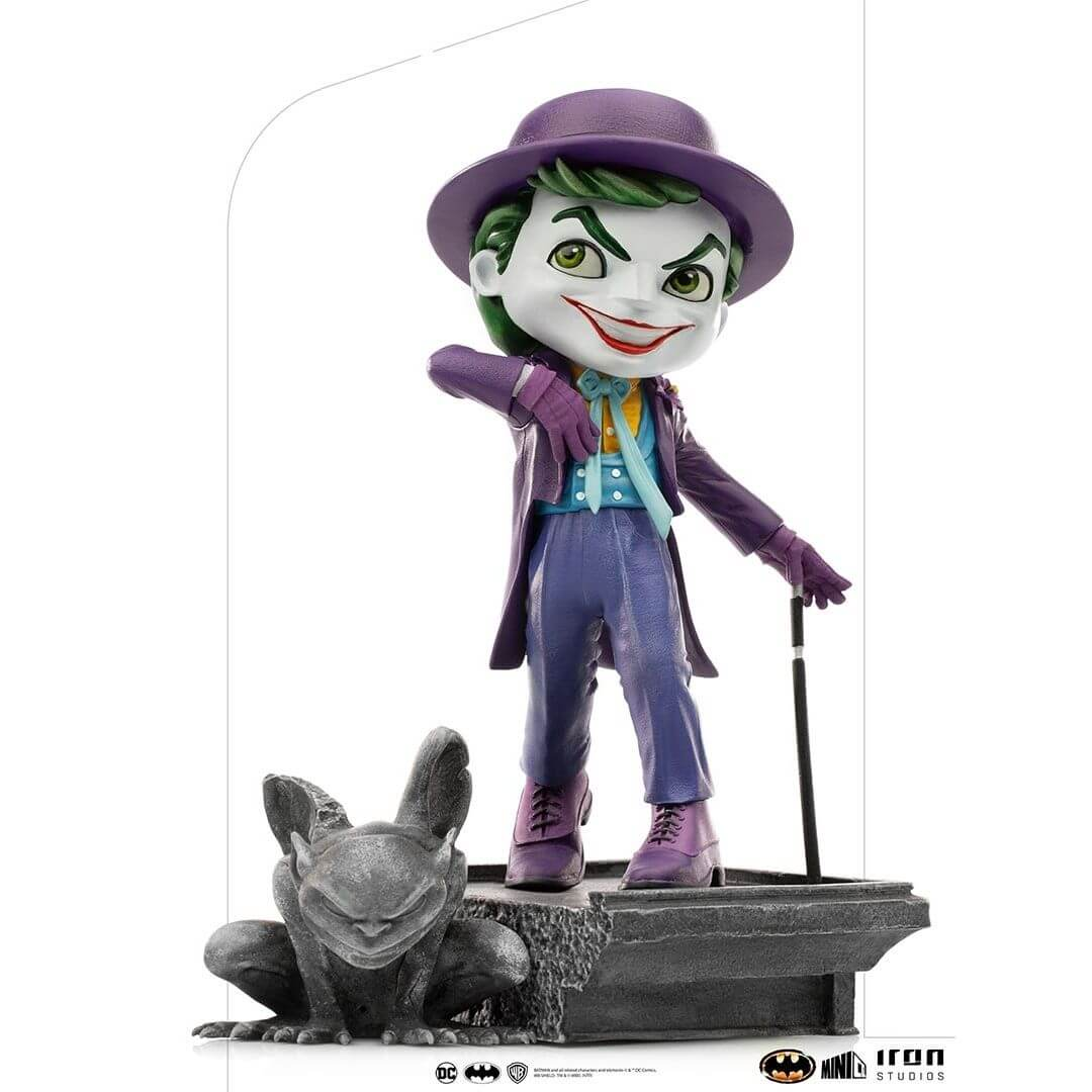 Batman 1989 Joker MiniCo Figure by Iron Studios -MiniCo - India - www.superherotoystore.com