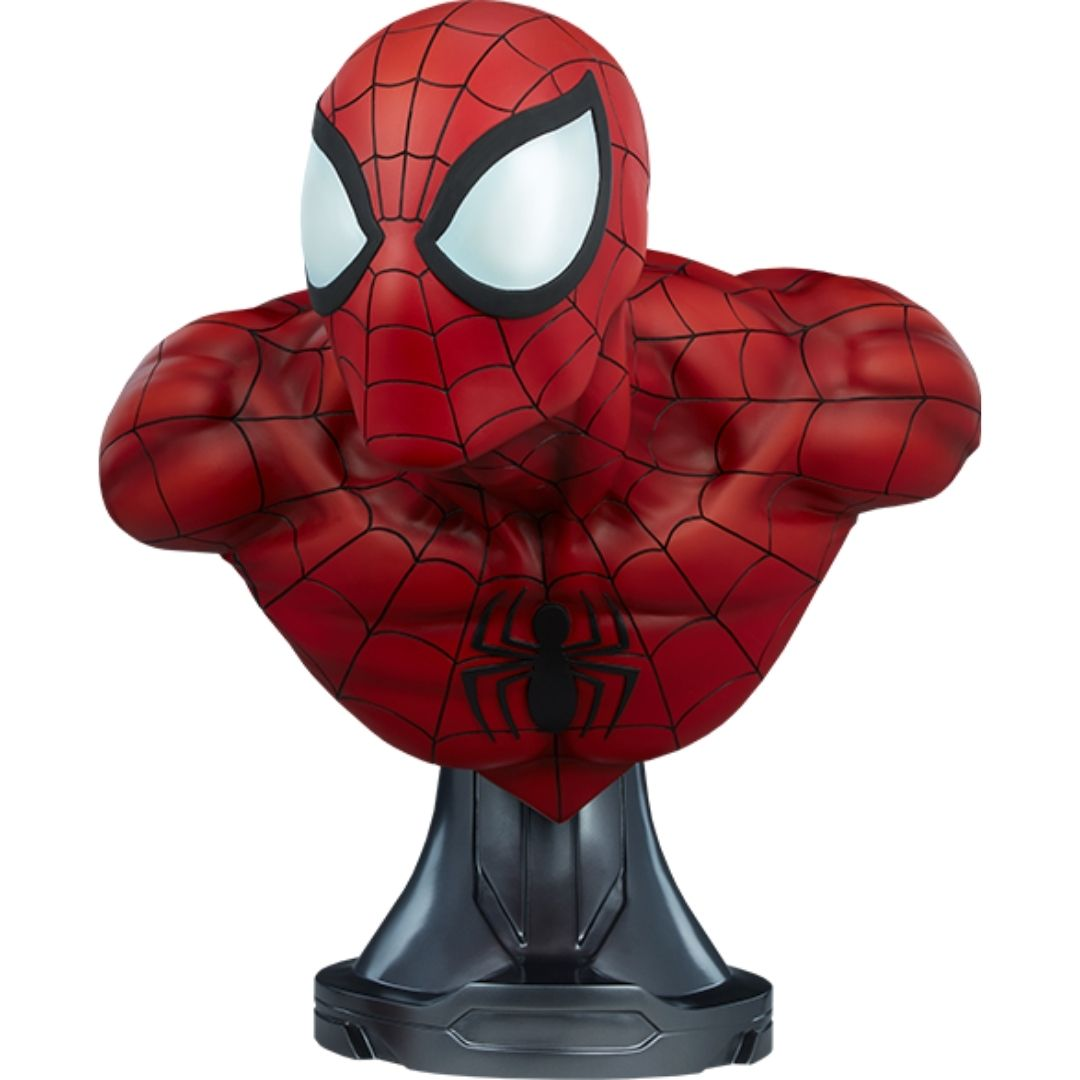 Spiderman Life Size Bust by Sideshow Collectibles