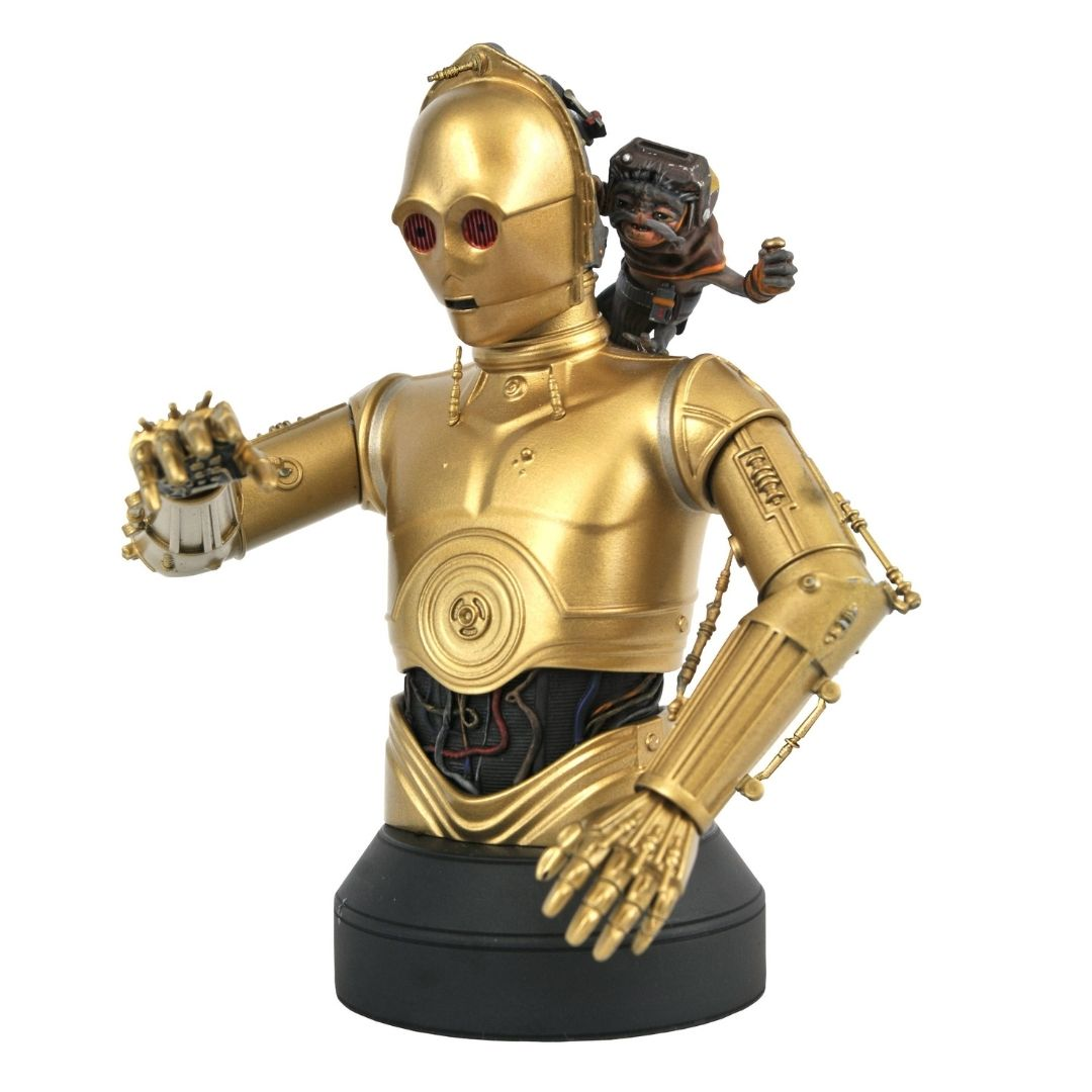 Star Wars: The Rise of Skywalker C-3PO and Babu Frik 1:6 Scale Bust by Diamond Select Toys -Diamond Select toys - India - www.superherotoystore.com