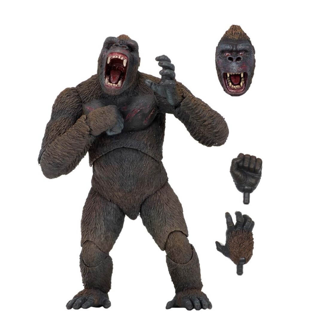 "King Kong 8"" Scale Action Figure by Neca -NECA - India - www.superherotoystore.com"
