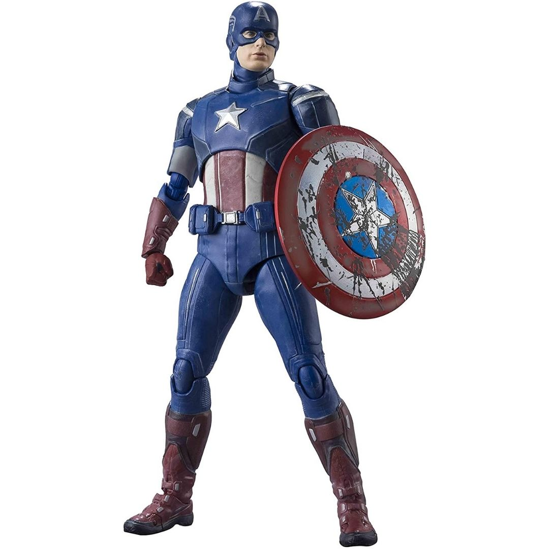 Avengers Captain America Avengers Assemble Edition Figure by S.H.Figuarts -SH Figuarts - India - www.superherotoystore.com