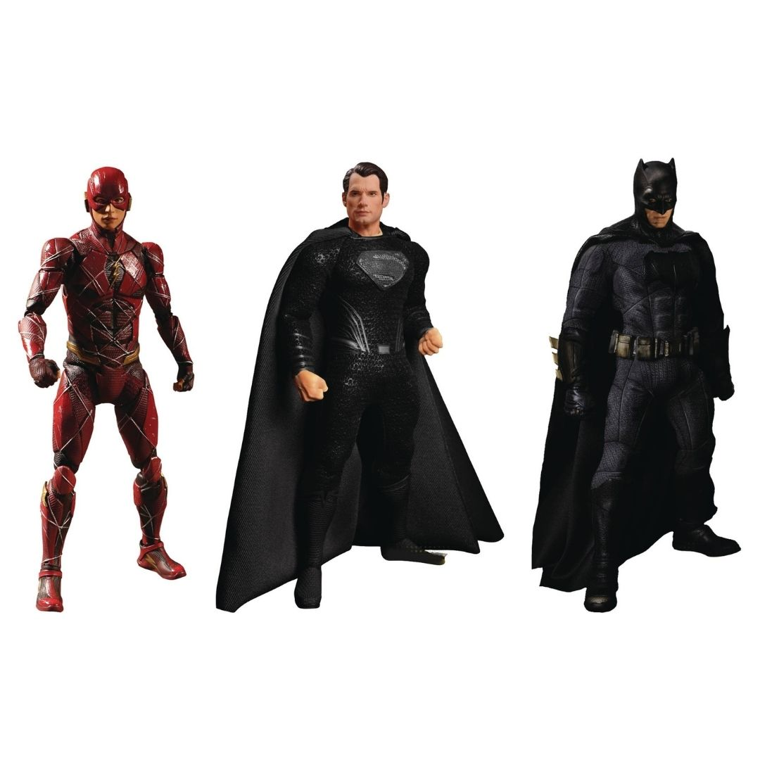 DC Zack Snyder Justice League Deluxe One:12 Collective Steel Boxed Set by Mezco Toys -Mezco Toys - India - www.superherotoystore.com