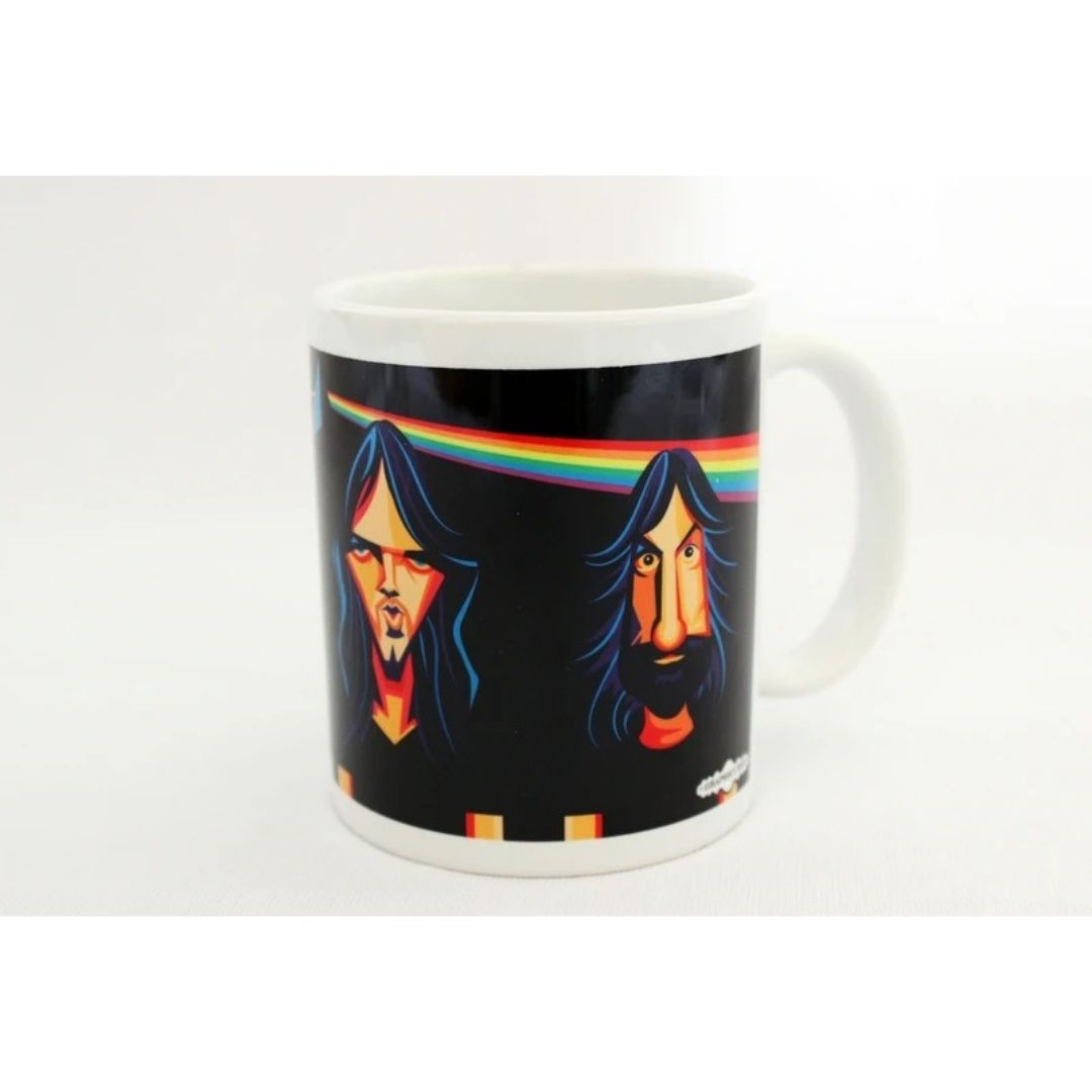 Dark Side Of The Moon Art Mug -Graphicurry - India - www.superherotoystore.com