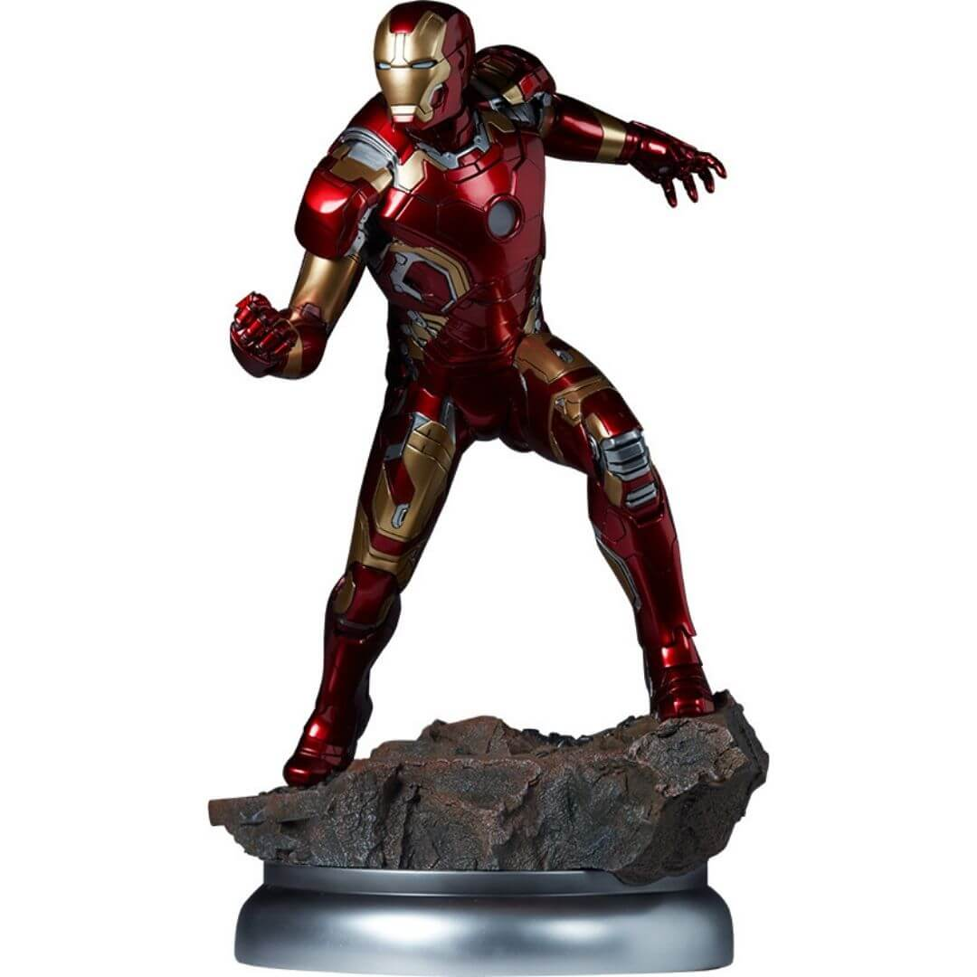 Iron Man Mark XLIII Maquette by Sideshow Collectibles -Sideshow Collectibles - India - www.superherotoystore.com