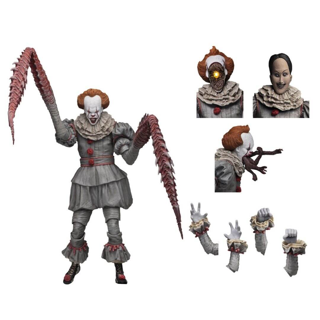 IT Ultimate Dancing Clown Pennywise Action Figure by NECA -NECA - India - www.superherotoystore.com