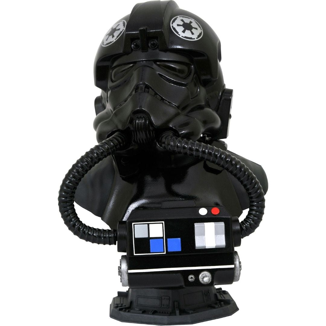 Star Wars Legends in 3D Tie Pilot 1:2 Scale Bust by Diamond Select -Diamond Select toys - India - www.superherotoystore.com