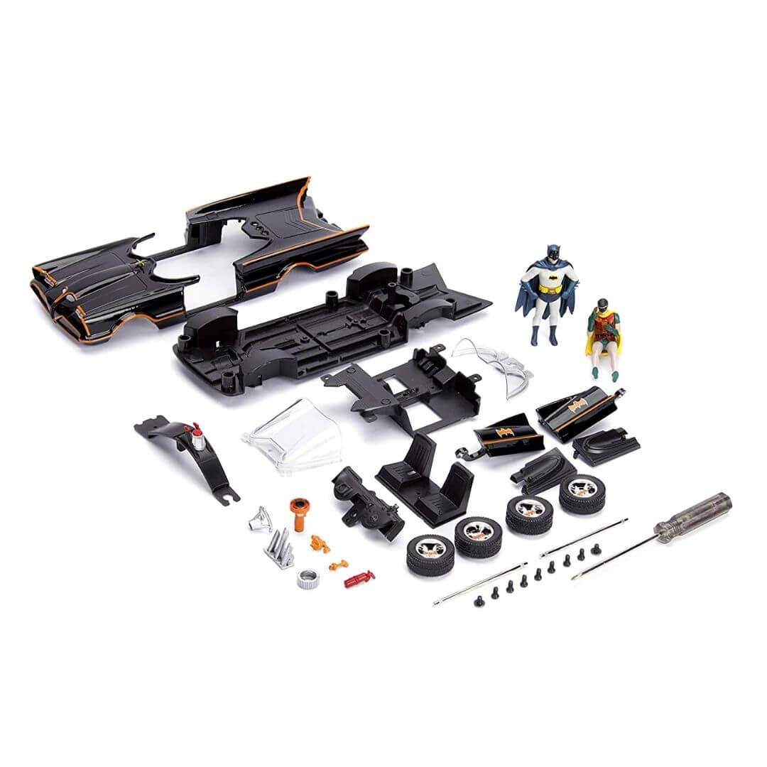 Batman Build & Collect 1966 1:24 Scale Batman & Batmobile by Jada Toys -Jada Toys - India - www.superherotoystore.com