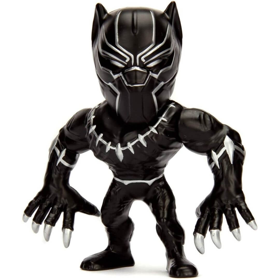 Marvel Comics Black Panther 4-Inch Figure by Jada Toys -Jada Toys - India - www.superherotoystore.com