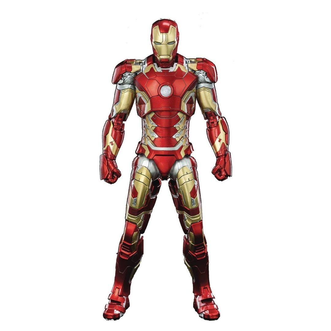 Avengers: Infinity Saga Iron Man Mark 43 1:12th Scale Deluxe Figure by ThreeZero