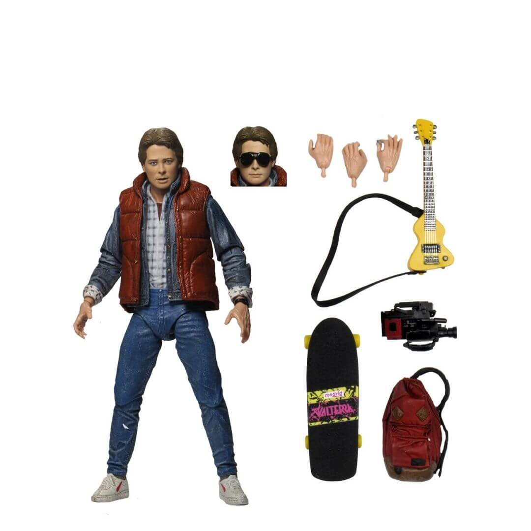 Back To The Future Ultimate Marty McFly Action Figure by NECA -NECA - India - www.superherotoystore.com