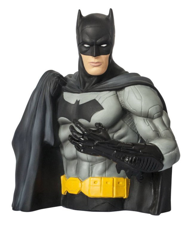 New 52 Batman Bust Bank by Monogram-Monogram International- www.superherotoystore.com-Bust Bank