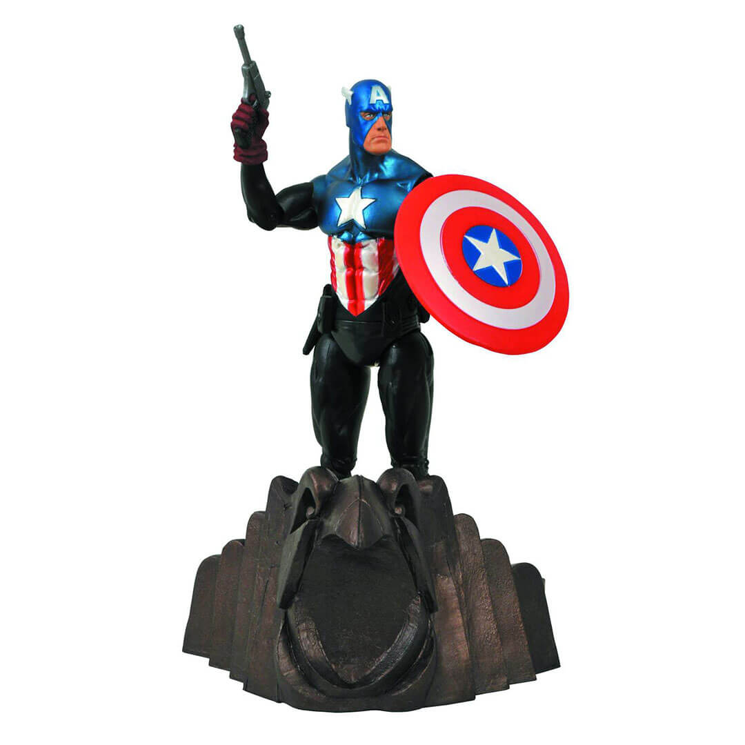 Captain America Action Figure by Diamond Select Toys - www.superherotoystore.com