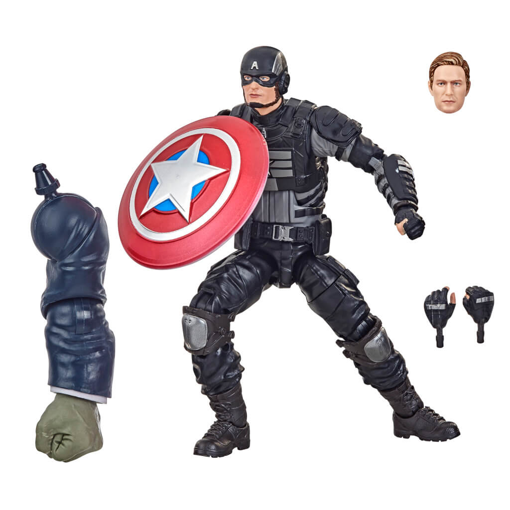 Avengers Gameverse Stealth Suit Captain America Marvel Legends Figure by Hasbro -Hasbro - India - www.superherotoystore.com